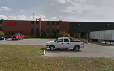 ZF-TRW on Spruce St. in Tillonburg. Photo from Google Maps.