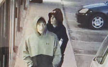 A surveillance photo of two break and enter suspects on Dulaney Dr., June 5, 2018. Photo courtesy of London police.