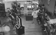 Thieves steal swords, knives from Reliks Swords Knives and Collectibles on Dulaney Dr., June 5, 2018.