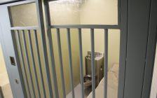 Ck Police Department cell. (Photo by Greg Higgins)
