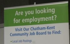 Chatham-Kent Municipal Economic Development Services held a job fair at the Tilbury Knight's of Columbus Hall, looking to fill upwards of 225 positions between 12 employers. June 11, 2018. (Photo by Greg Higgins)