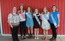 Chatham-Kent Princess of the Furrow Competition 2017. (Photo courtesy of Chatham-Kent Plowmen's Association Facebook page).