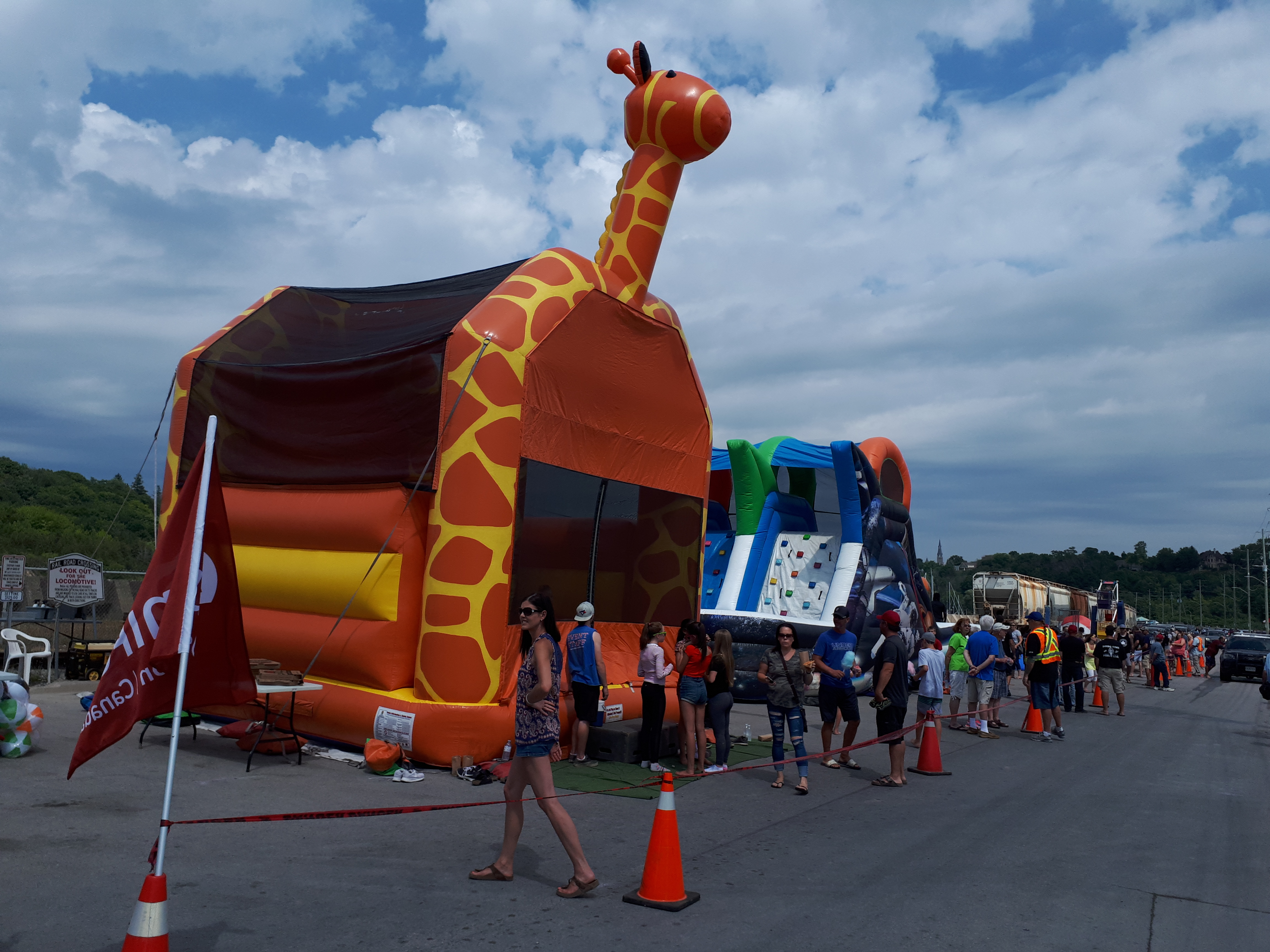 UNIFOR Holds Carnival For Striking Goderich Mine Workers