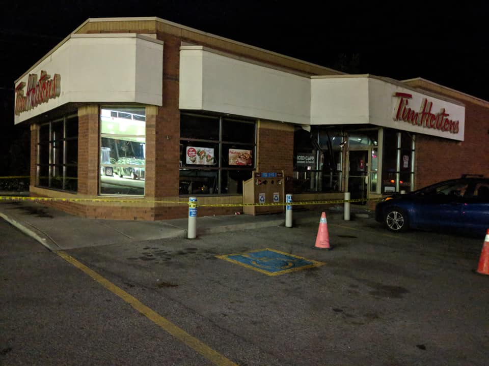 No Injuries After Fire At Tim Hortons In Arthur