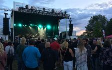Sarnia's Bluewater Borderfest at Centennial Park. July 28, 2018. (Photo by K 106.3)