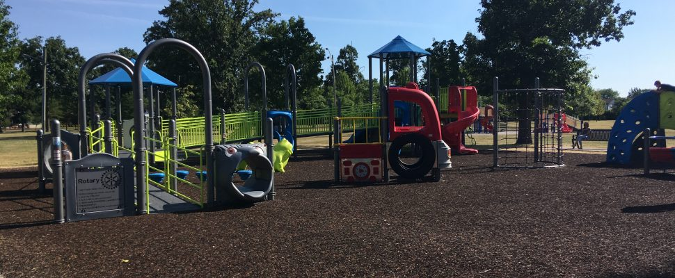 The Town of Tecumseh has officially opened its new playground at Lacasse Park. July 19, 2018. (Photo by Paul Pedro)
