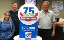 Bob, Michelle, Mike, Wayne, Grace from the Dowler-Karn Chatham-Kent Office. (Photo courtesy of Dowler-Karn)