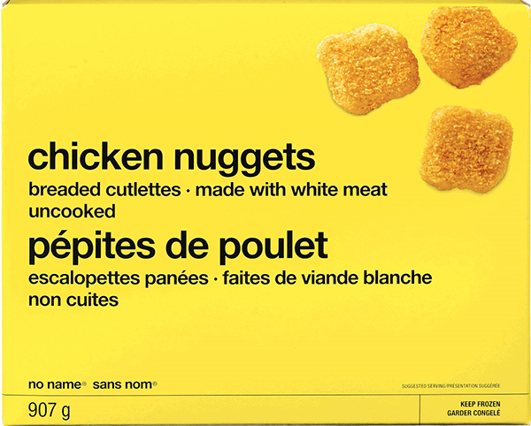 Recall On Certain No Name Chicken Nuggets Issued