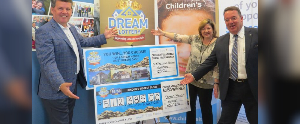 Dream Lottery Winners Announced