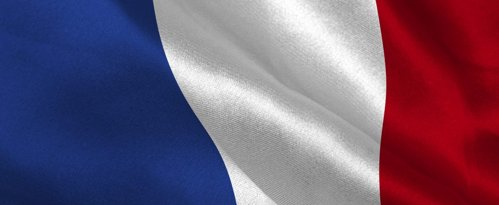 French flag. (Photo courtesy of © Can Stock Photo / 4774344sean).