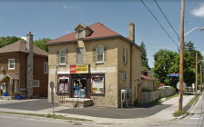 A convenience store on Lorne Ave. at English St. Photo from Google Maps.