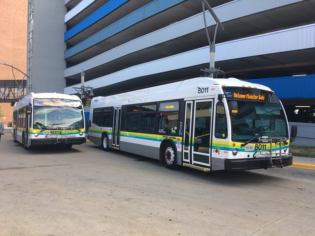 Transit Windsor Riders Have 24 More Comfortable and Smarter Buses