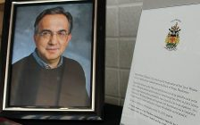 The City of Windsor and community leaders are mourning the death of Sergio Marchionne. July 25, 2018. (Photo courtesy of City of Windsor)