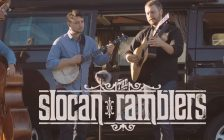 Screen shot from Slocan Ramblers video Mighty Hard Road (courtesy of the Kingsville Folk Music Festival)