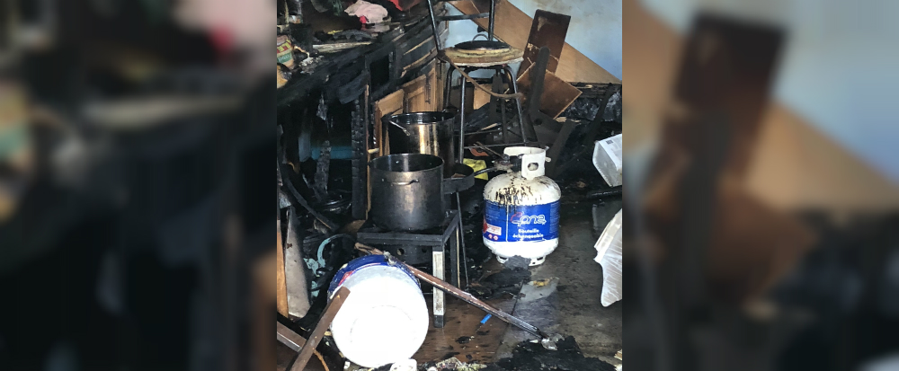 Deep Fryer Accident Sparks Shed Fire