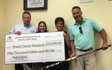 The annual Ed Jovanovski Charity Golf Classic was a huge success. Aug. 16, 2018. (Photo courtesy of Canadian Cancer Society)