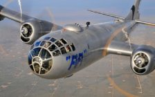 Fifi, a Boeing B-29 Superfortress. Photo courtesy of the Commemorative Air Force AirPower History Tour.