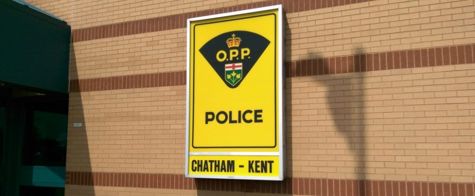 Chatham-Kent OPP headquarters in Chatham. (Photo by Matt Weverink)