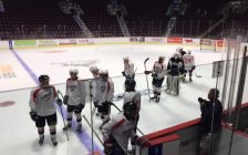 The Windsor Spitfires are getting ready for another season. Aug 28, 2018. (Photo by Paul Pedro)