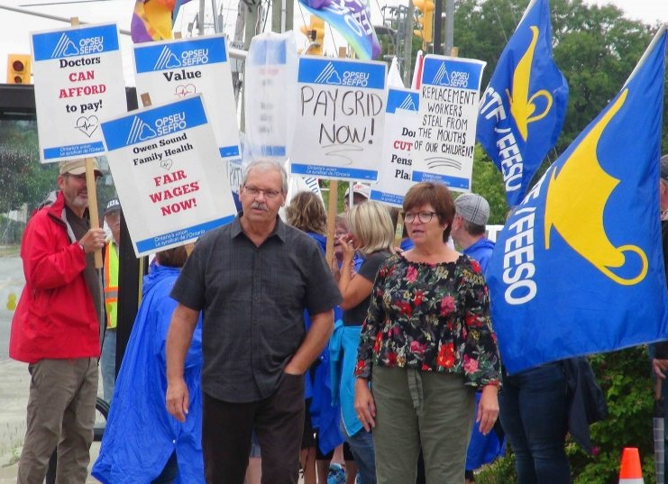OPSEU Files Complaint Against Owen Sound Family Health Organization Owners