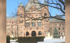 Queen's Park Toronto (BlackburnNews.com file photo by Sue Storr)