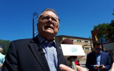 Canada's Minister of Public Safety Ralph Goodale speaking in Sarnia. August 10, 2018. (Photo by Colin Gowdy, BlackburnNews)