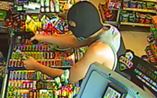 A surveillance photo of a man robbing a convenience store at 750 Lorne Ave., July 15, 2018. Photo courtesy of London police.