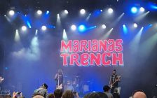 Vancouver-based band Marianas Trench at the 2017 Rock the Park concert in London. July 16, 2017. (Photo by Lauren Dann)