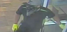 A suspect wanted in connection with break-ins in Komoka and Delaware, August 4, 2018. Photo courtesy of Middlesex OPP.