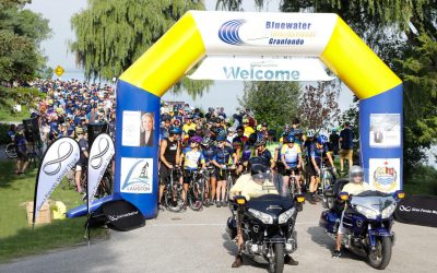 2018 Bluewater International Granfondo. (Photo courtesy of Gina Marie Photography)