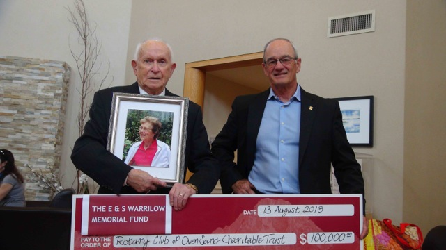 Owen Sound Couple Donate To Youth Camp