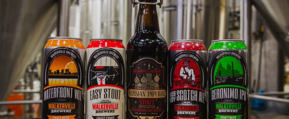 Walkerville Brewery has won fivel awards at the 2018 Ontario Brewing Awards in Toronto. (Photo courtesy of Walkerville Brewery)