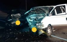 Police are investigating after a serious three-vehicle crash at Highway 3 and Tisdale Road near Delhi, September 11, 2018. (Photo courtesy of the OPP via Twitter)