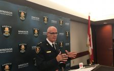 Windsor Police Chief Al Frederick says help is on the way for downtown after bar owner complains about lack of patrols. Sept 5, 2018. (Photo by Paul Pedro)