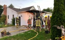 An early morning house fire has been extinguished, Sept. 24, 2018. (Photo courtesy @CKFireDept)