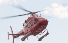 The Canadian Coast Guard Bell 429 helicopter assigned to Great Lakes and Arctic operations. September 6, 2018. (Photo courtesy of CCG)