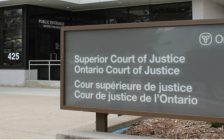The Ontario Supreme Court of Justice in Chatham, seen on March 18, 2016. (Photo by Ricardo Veneza)