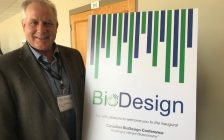 Bioindustrial Innovation Canada (BIC) Executive Director Sandy Marshall at the inaugural Canadian BioDesign Conference in Sarnia. September 12, 2018 Photo by Melanie Irwin