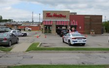 London police are investigating an apparent shooting in the east end. September 12, 2018. (Photo by Miranda Chant, Blackburn News)