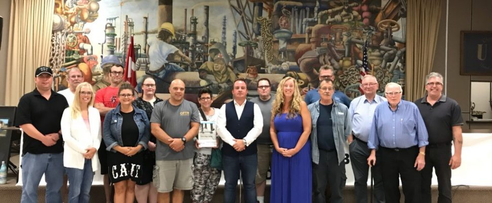 Sarnia and District Labour Council (submitted photo Sept, 2018)