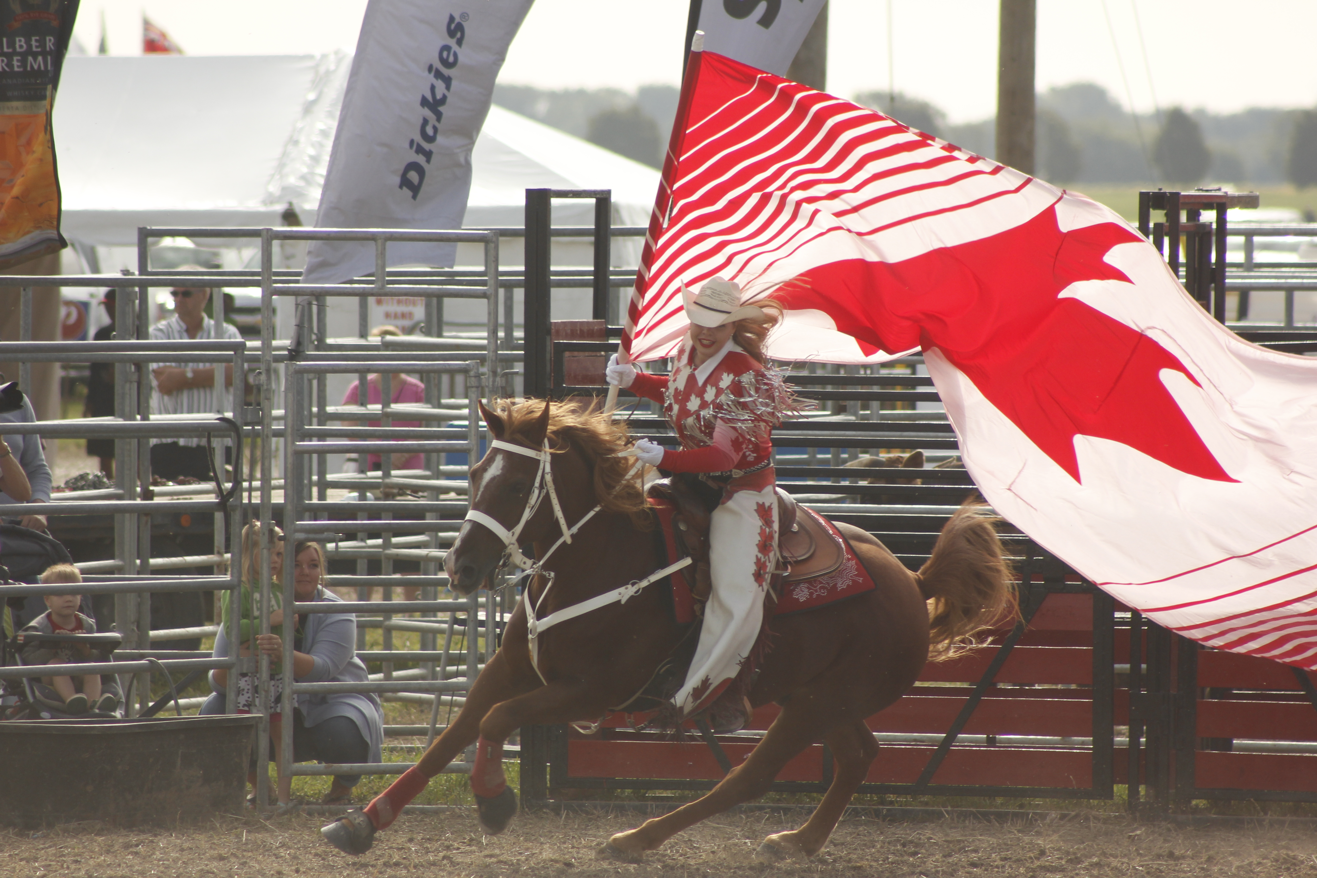 Hometown performance makes Canadian Cowgirls proud
