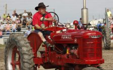 The Dancing Tractors performed to huge crowds daily at the International Plowing Match 2018. (Photo by Angelica Haggert)