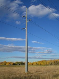 An example of an RS Technologies utility pole. September 13, 2018. (Submitted photo by RS Technologies Inc.)