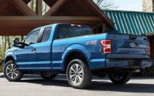 A photo of a 2018 Ford F-150 pickup truck courtesy of Ford.ca.