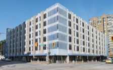 Photo of the Goyeau Street Parking Garage in downtown Windsor, courtesy of the City of Windsor.