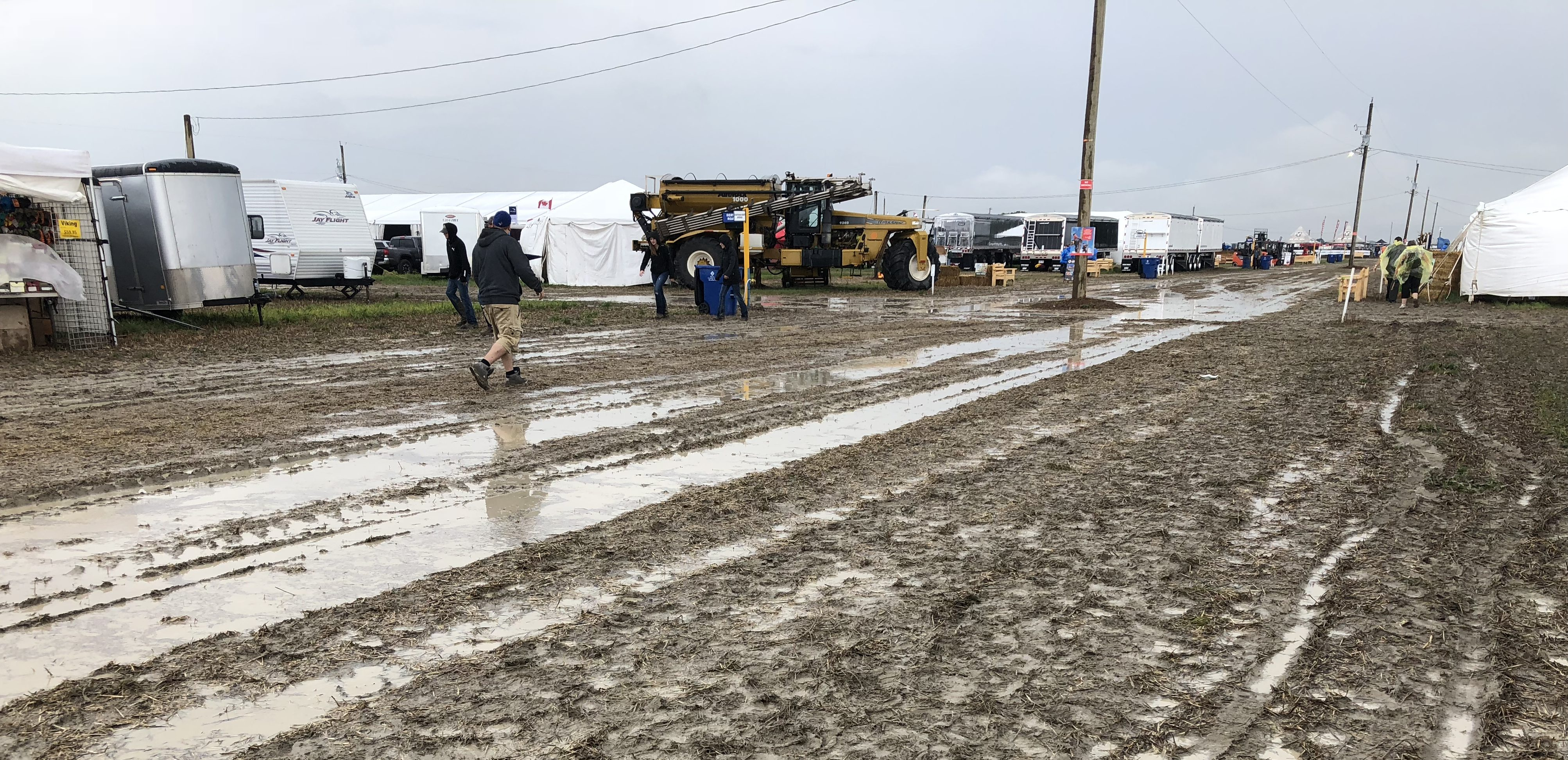 Heavy rainfall shuts down IPM for the day