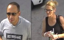 Photos of Matthew Lee Smibert, 36, and Sherri-Lynn Stringer, 38, provided by London police.