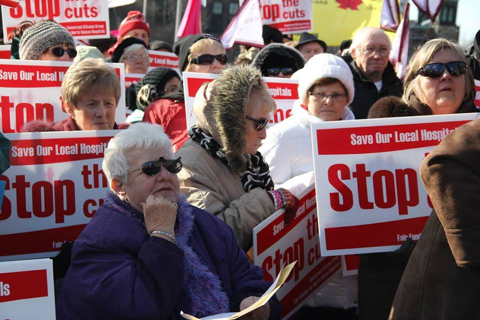 Labour Council information picket Monday in Kincardine