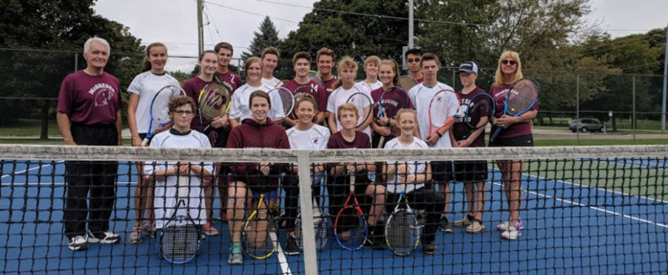 2018 Fall John McGregor Secondary School tennis team. (Submitted photo)