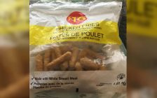 Loblaw Companies Limited is recalling certain $10 Chicken Fries from the marketplace due to possible Salmonella contamination. October 2, 2018. (Photo courtesy of the Canadian Food Inspection Agency)